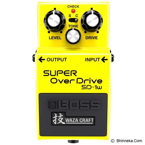 BOSS Guitar Sound Effect [SD-1W] - Guitar Stompbox Effect